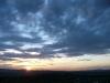 Sonnenuntergang bei Göttingen (Foto: Wolfgang Keber)
