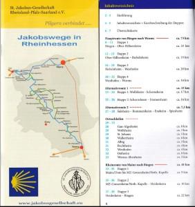 Jakobswege in Rheinhessen