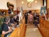 Empfang im Rathaus mit Jose Sanchez Bugallo und Maria Guerra