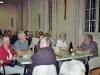 Abendessen mit Bernard Denner und Frau, am Kopfende