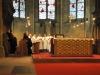 In der Abteikirche St. Mauritius