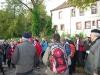 Erlauterungen von Jorn Wallacher beim Forsthaus Neuhaus