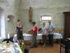 Imbiß im Kloster Klingenmünster (Foto: Theo Roth)