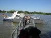 Wasserschutzpolizei auf Rhein nach Stabübergabe (Foto: Albert Dreis)